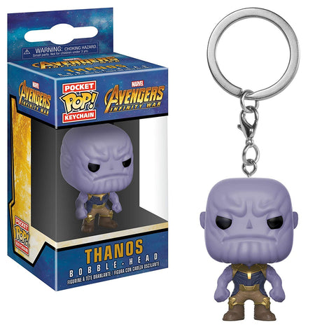 Avengers: Infinity War Thanos Pocket Key Funko Pop! Key Chain