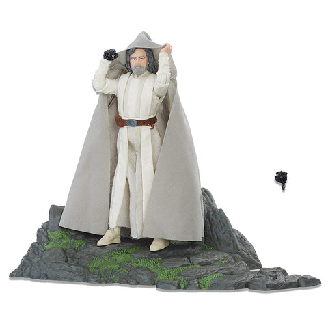 Star Wars Luke Skywalker on Ahch-To Island Black Series