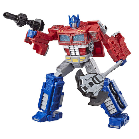 Optimus Prime New Transformers Generations Siege Voyager Class