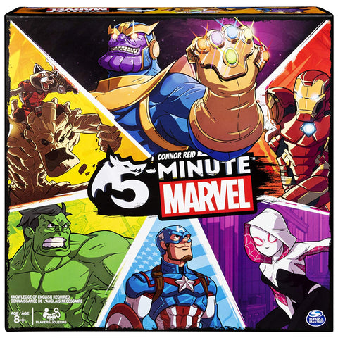 5 Minute Marvel New 2 to 5 Player Card Game