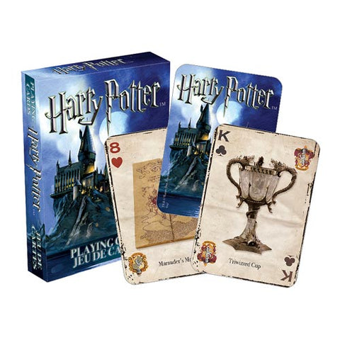 Harry Potter Hogwarts New 52 Deck Playing Cards