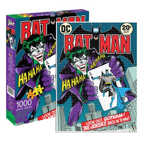 Batman Joker 1,000-Piece Puzzle of Cover of Batman #251