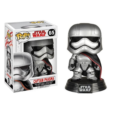 Funko Pop! Star Wars: The Last Jedi Captain Phasma #65