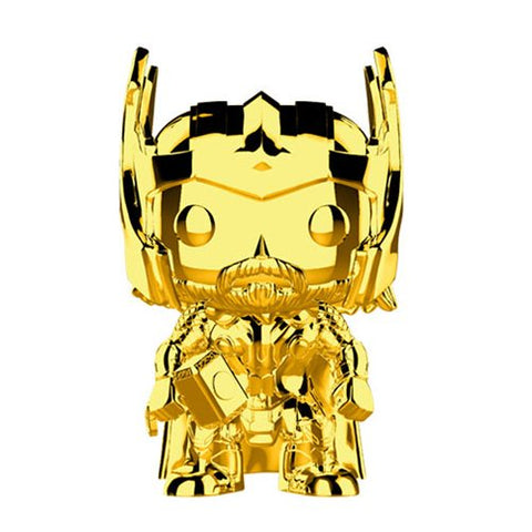 Marvel Studio's 10th Anniversary Chrome Thor Pop! Vinyl Figure #381