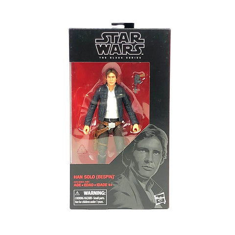 Han Solo Bespin #70 Star Wars Black Series New 6-inch Action Figure