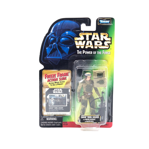 Star Wars Endor Rebel Soldier The Power of the Force