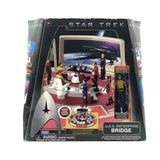 Star Trek Enterprise Bridge Playset with Captain Kirk Figure