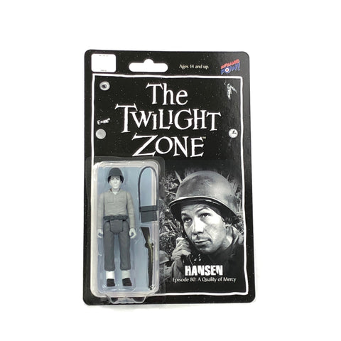 The Twilight Zone Hansen (Leonard Nimoy) from Episode 80: A Quality of Mercy