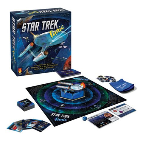 Star Trek Panic New Co-Op Board Game