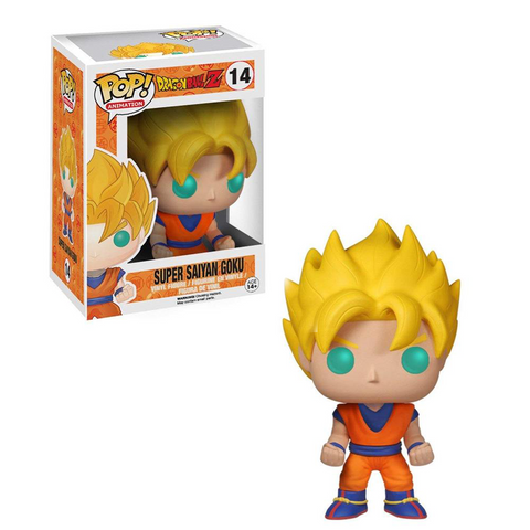 Dragon Ball Z Glow-in-the-Dark Super Saiyan Goku Funko Pop! Vinyl Figure #14