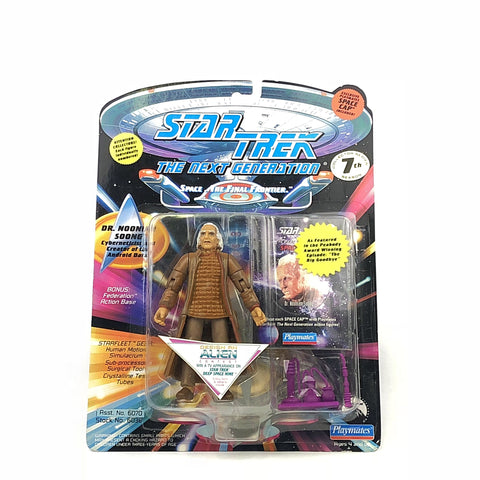Star Trek Dr. Noonian Soong Action Figure