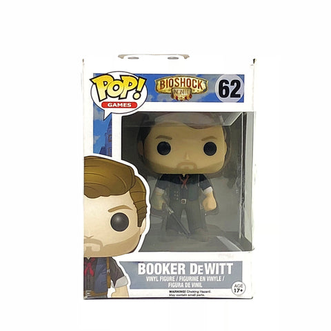 Funko Pop Booker DeWitt from Bioshock Infinite #62