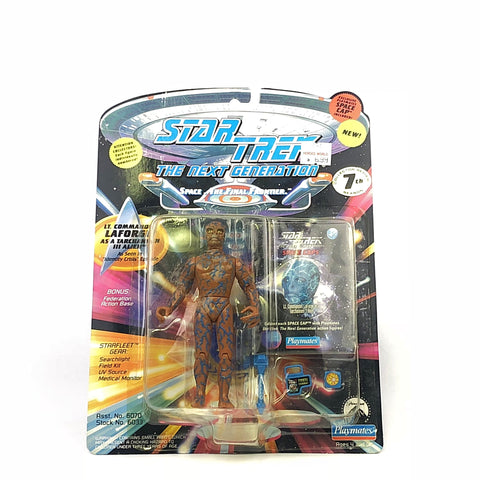Star Trek Lt. Commander Geordi La Forge as Tarchannen 3 Alien Action Figure