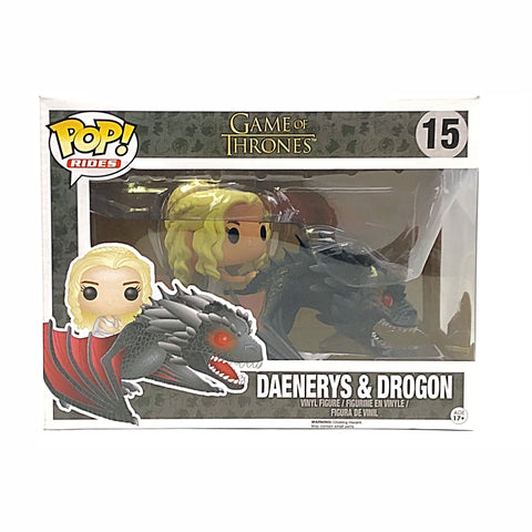 Funko Pop Daenerys & Drogon from Game of Thrones #15