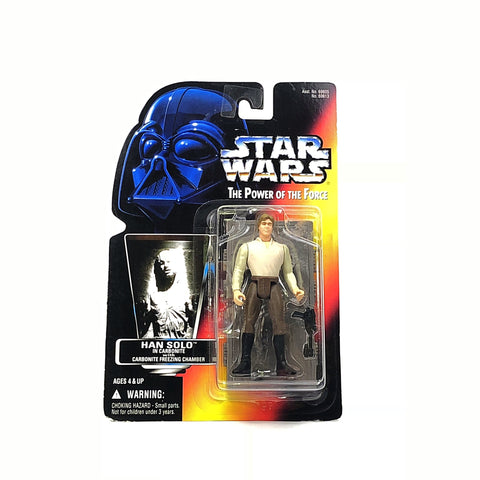 Star Wars Han Solo in Carbonite The Power of the Force