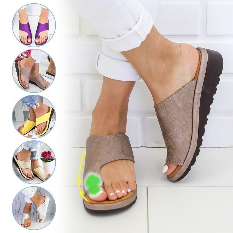 Comfortable Sandals With Thick Soles - PAPA BEAR HOME
