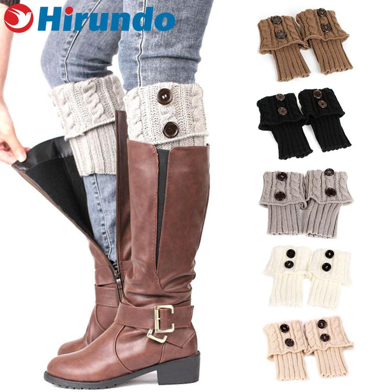 Hirundo Knit Boot Toppers - PAPA BEAR HOME