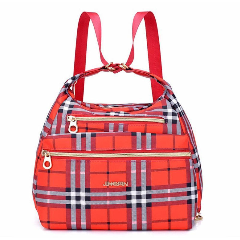 Bag with double zippers, backpack, handbag and shoulder bag - PAPA BEAR HOME