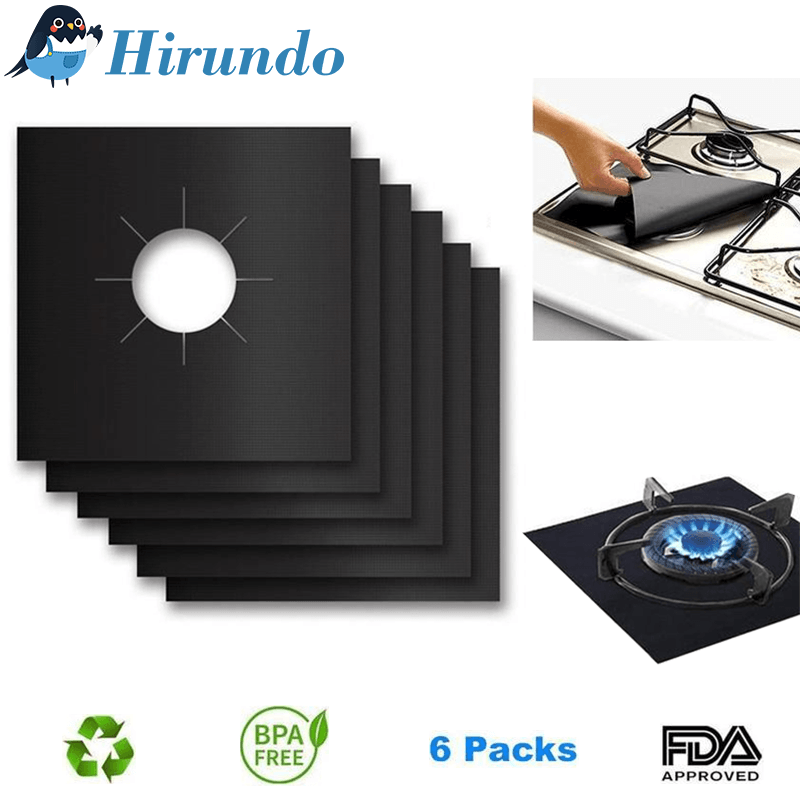 Hirundo Gas Range Protectors, 6 packs - PAPA BEAR HOME