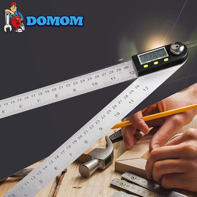 DOMOM 2 in 1 Digital Angle Finder - PAPA BEAR HOME