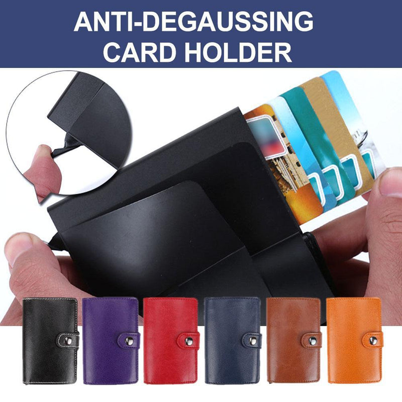 Anti-Degaussing Card Holder - PAPA BEAR HOME