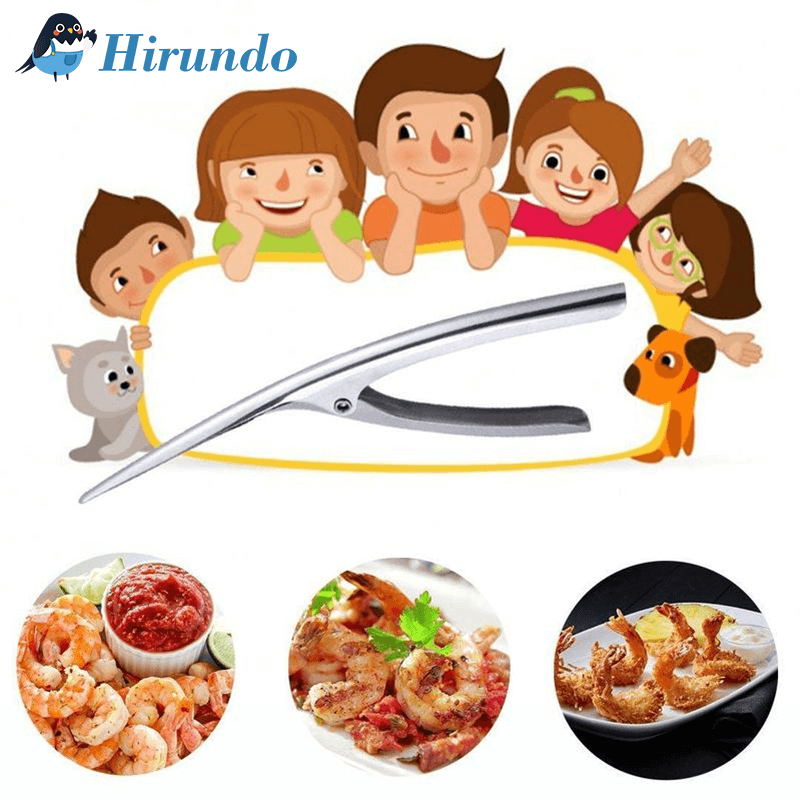 Hirundo Stainless Steel Shrimp Peeler - PAPA BEAR HOME