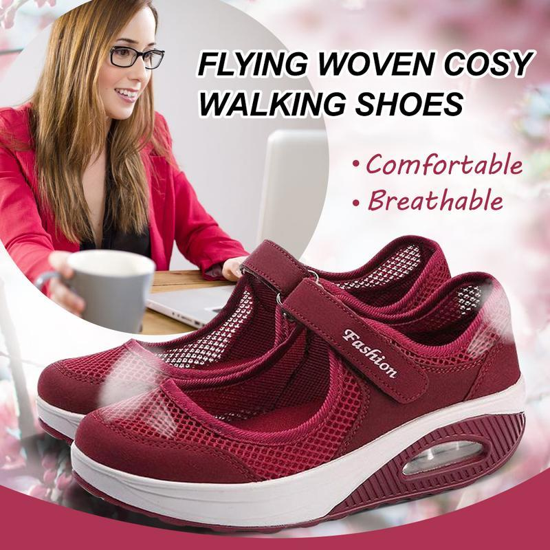Flying Woven Cosy Walking Shoes - PAPA BEAR HOME