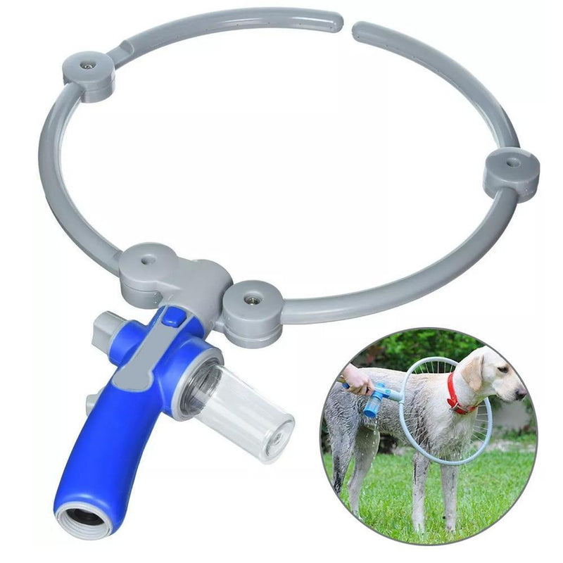 Folding Ring-Shaped Pet Grooming Shower - PAPA BEAR HOME