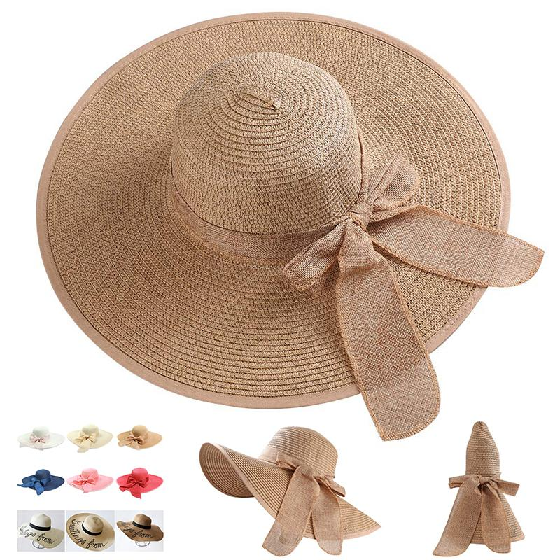 Summer Beach Wide Brim Sun Hats, UPF 50+ - PAPA BEAR HOME