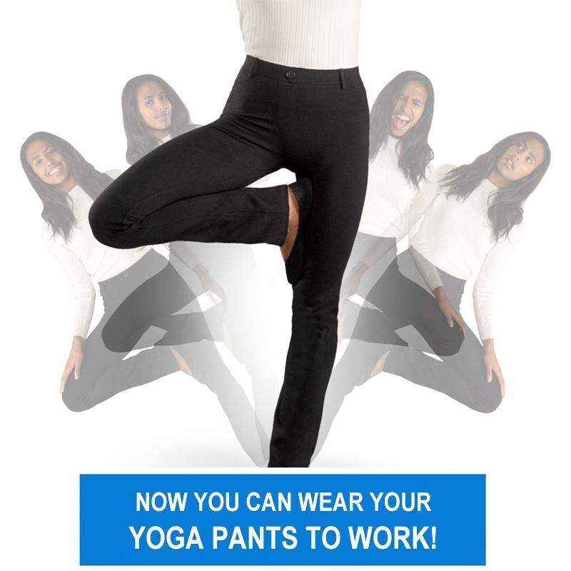 TODAY 50% OFF--New Arrival Dress Soft Yoga Pants