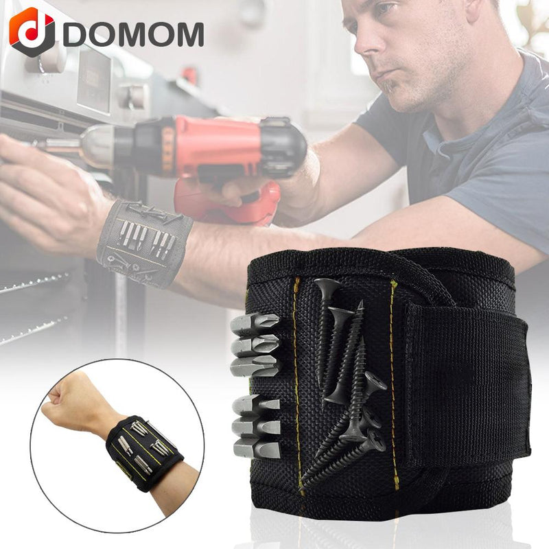 Domom Magnetic Wristband with Strong Magnets - PAPA BEAR HOME