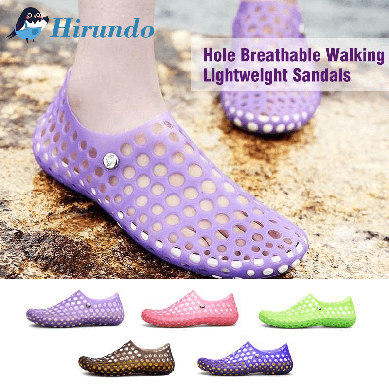 Hirundo Hole Breathable Walking Lightweight Sandals - PAPA BEAR HOME