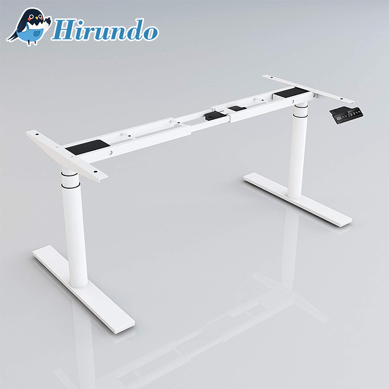 Hirundo Electric Stand Up Desk Frame Workstation - PAPA BEAR HOME