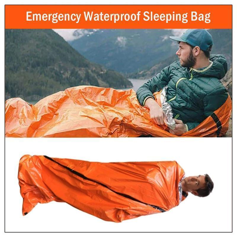 Emergency Waterproof Sleeping Bag - PAPA BEAR HOME