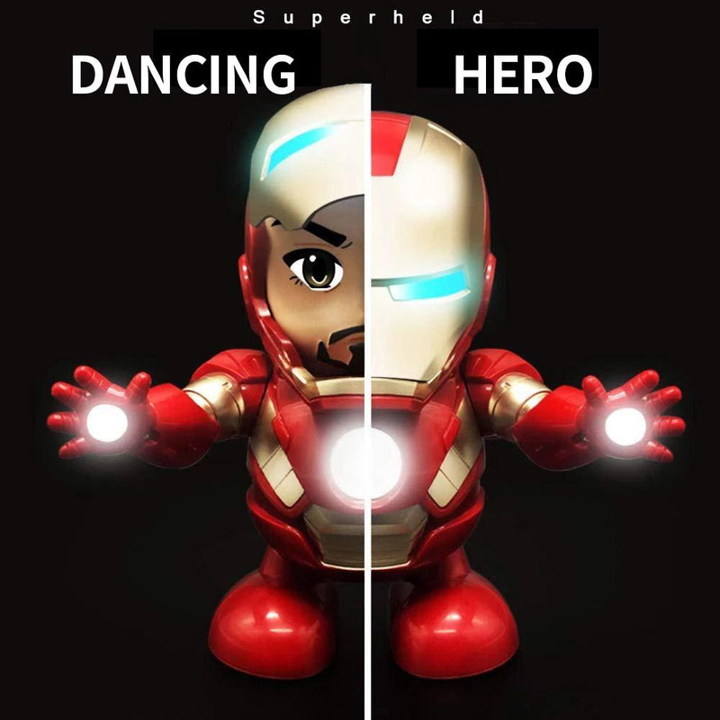Iron Man dancing and singing toy