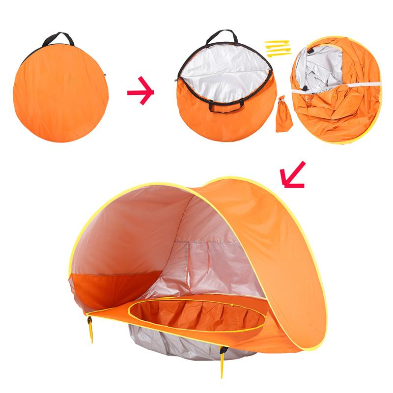 Baby Beach Tent UV-Protection Sun Shelter - PAPA BEAR HOME