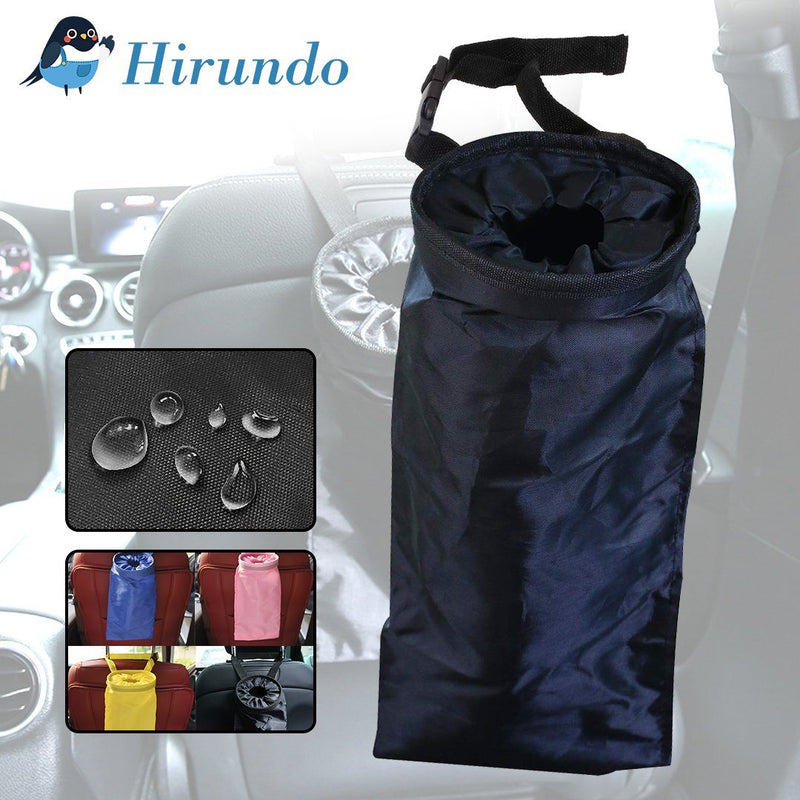 Hirundo Car Seat Back Storage Trash Bag - PAPA BEAR HOME