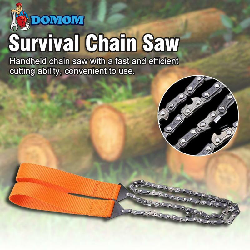DOMOM Survival Pocket Hand Chain Saw - PAPA BEAR HOME
