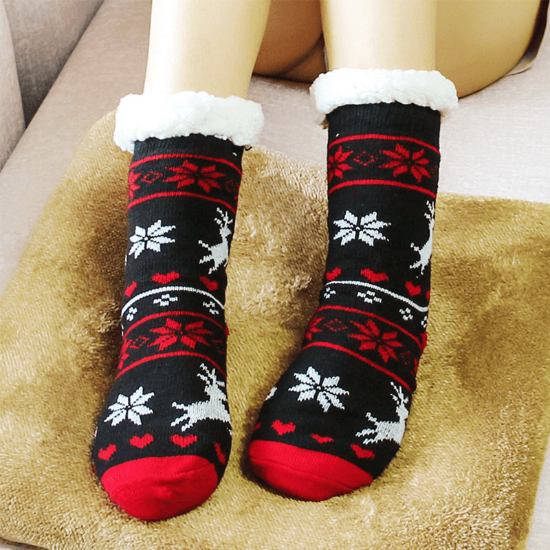 Hirundo Thermal Fleece Slipper Socks - PAPA BEAR HOME