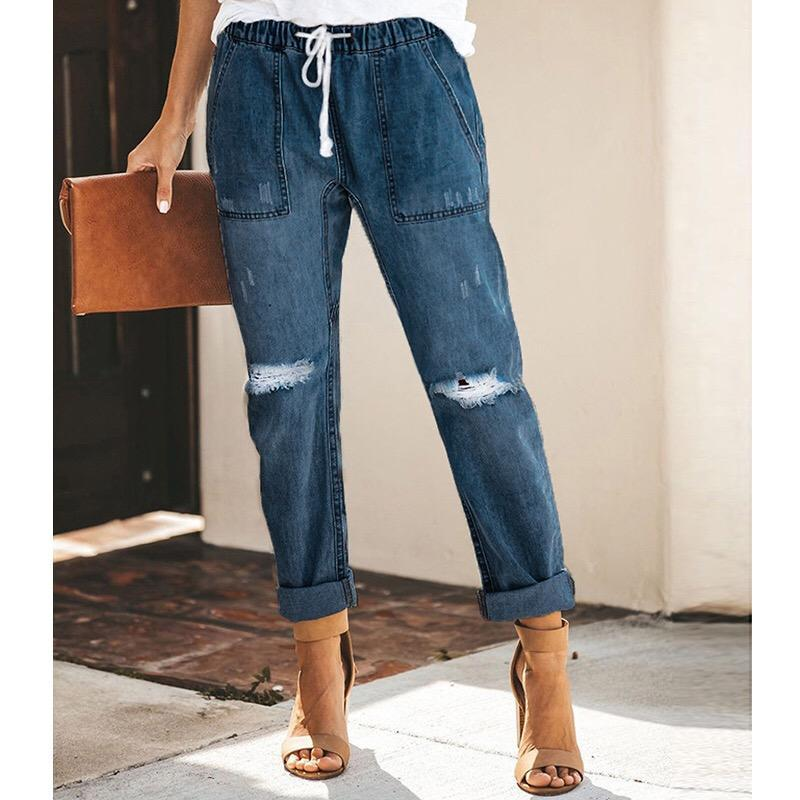 2019 Fashionable Lady Jeans - PAPA BEAR HOME