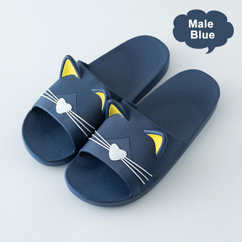 cute cat ear and whisker slippers - PAPA BEAR HOME