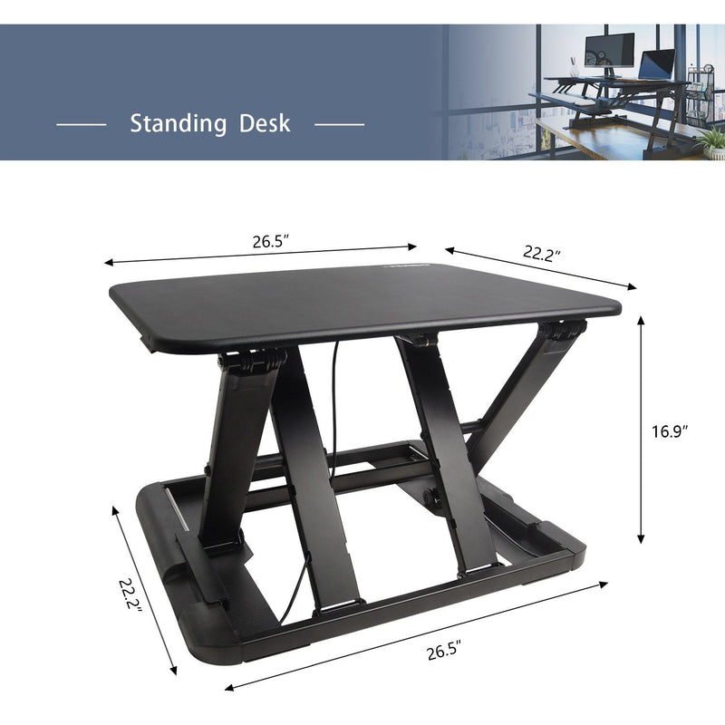 Hirundo Height Adjustable Standing Desk - PAPA BEAR HOME