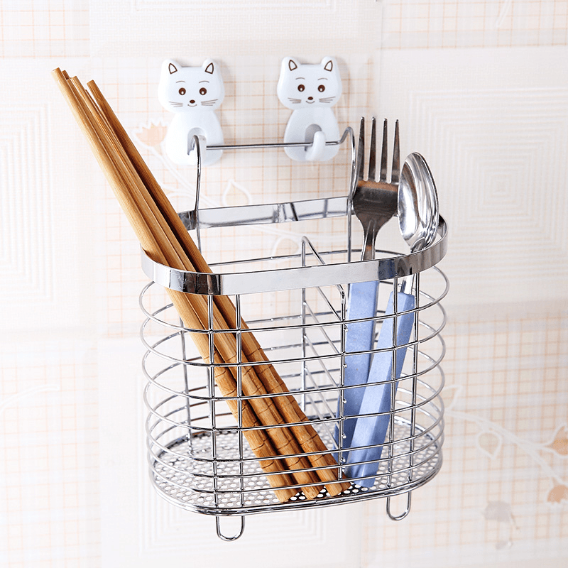 Hirundo Stainless Steel Drain Kitchen Shelf - PAPA BEAR HOME