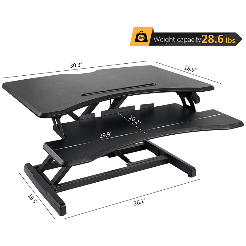 Hirundo Standing Desk with Height Adjustable - PAPA BEAR HOME