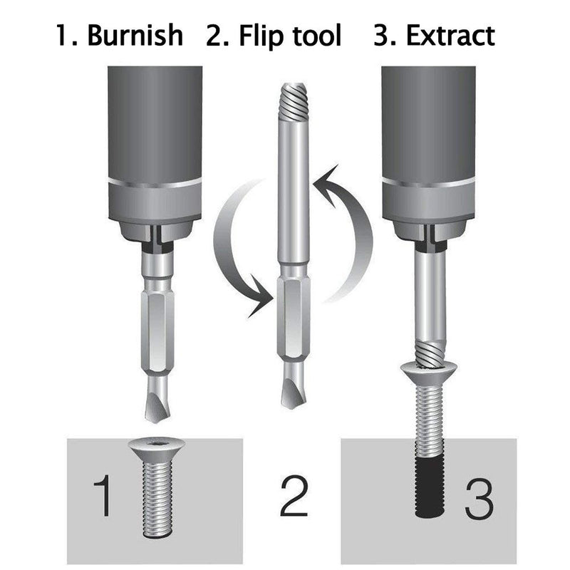 DOMOM Screw Extractor Set(4 Pieces) - PAPA BEAR HOME