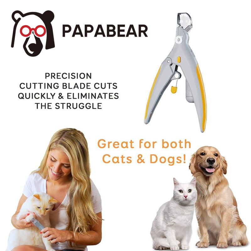 PAPABEAR ILLUMINATED NAIL CLIPPER - PAPA BEAR HOME