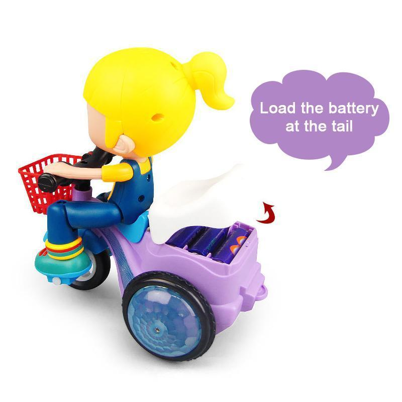 Electric Tricycle Toy with Music & Light - PAPA BEAR HOME