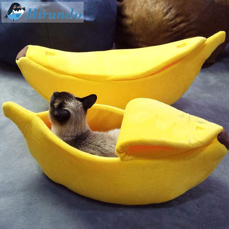 Hirundo Banana Pet Bed - PAPA BEAR HOME