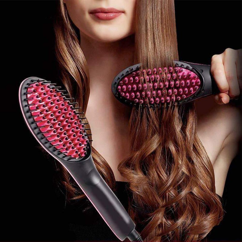 Hair Straightening Brush - PAPA BEAR HOME