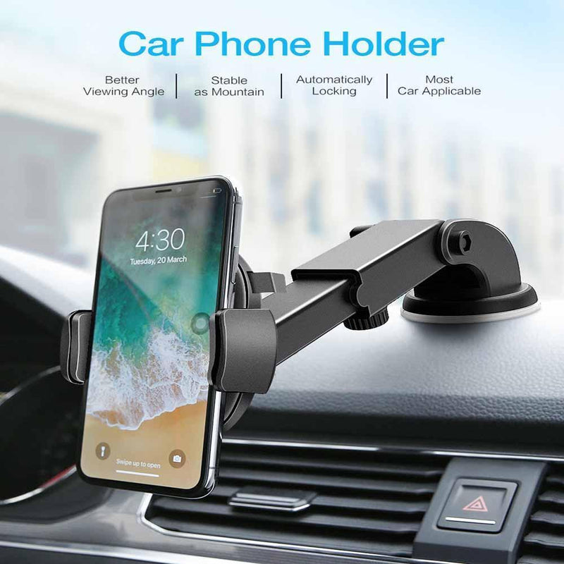 Car Phone Holder/Black - PAPA BEAR HOME